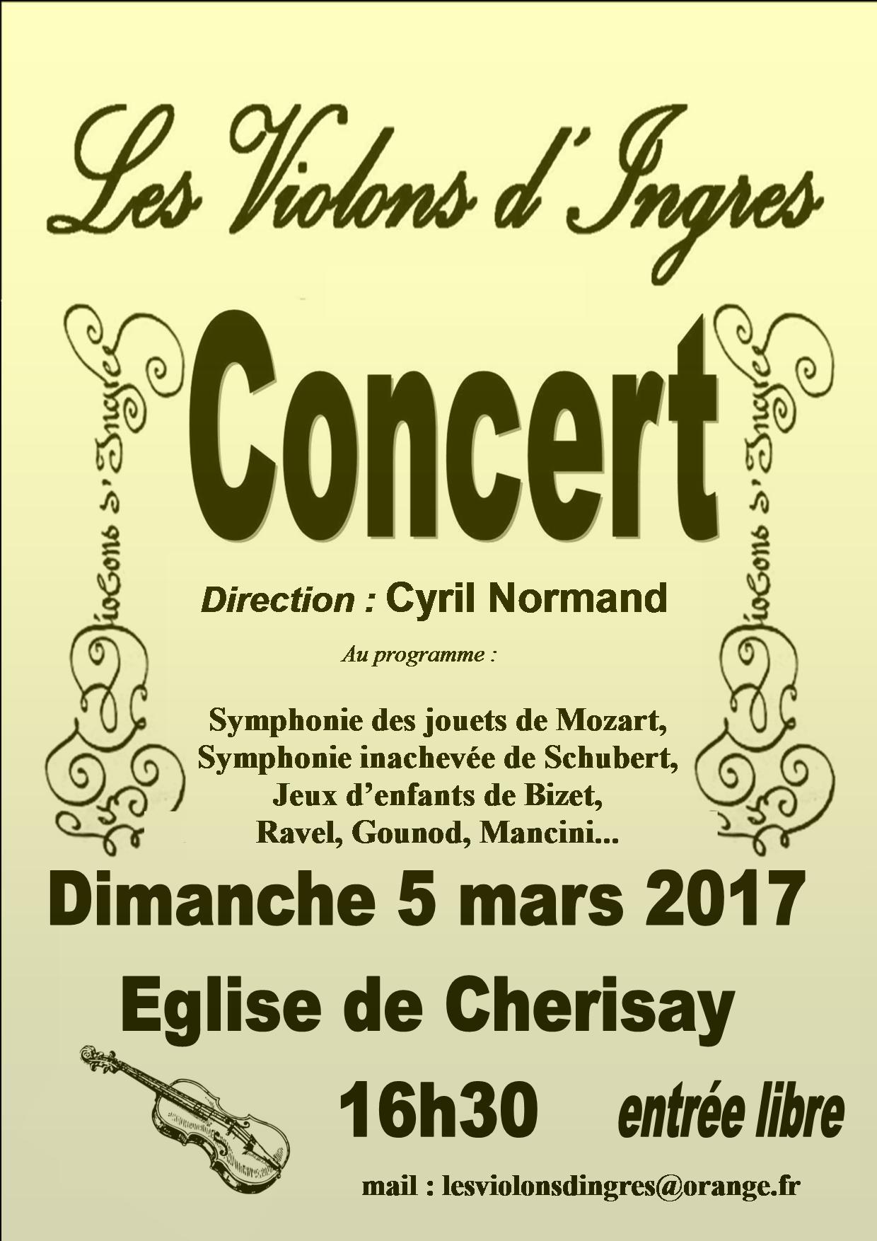 Concert des Violons d'Ingres